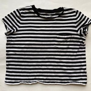 Madewell Womens Top Tshirt Short Sleeve Cotton XS